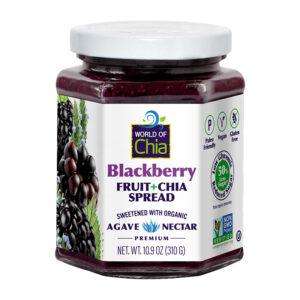 PREMIUM chia blackberry fruit spread