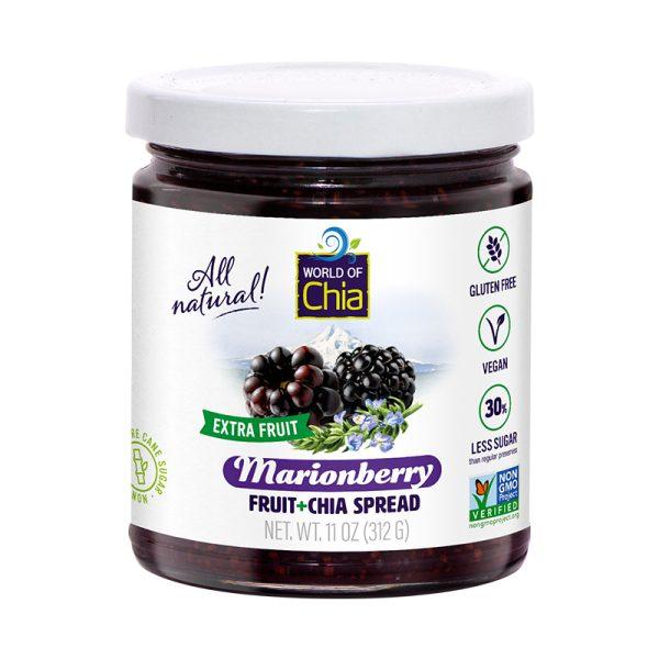 Extra Fruit Chia Marion Blackberries Fruit Spread