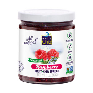 Club Extra Fruit Chia Raspberry Fruit Spread