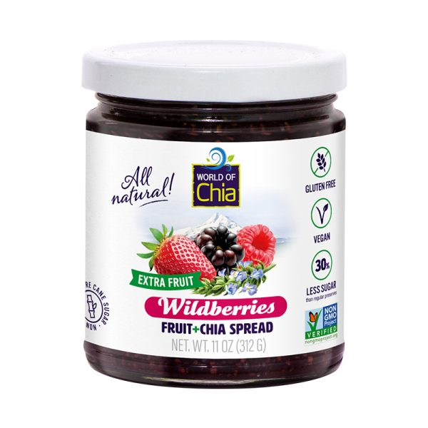 Extra Fruit Chia Wildberries Fruit Spread