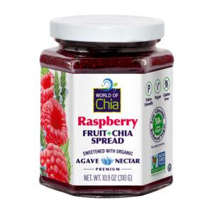 PREMIUM chia raspberry fruit spread