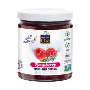 Standard chia raspberry fruit spread