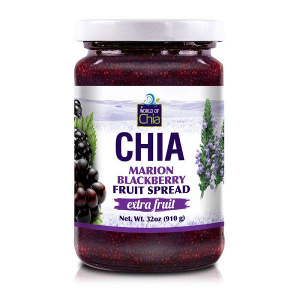 Extra Fruit Chia blackberry Fruit Spread