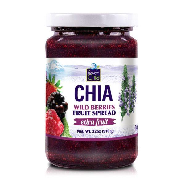 Club Extra Fruit Chia Wildberries Fruit Spread