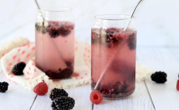 DIY Berry Soda recipe