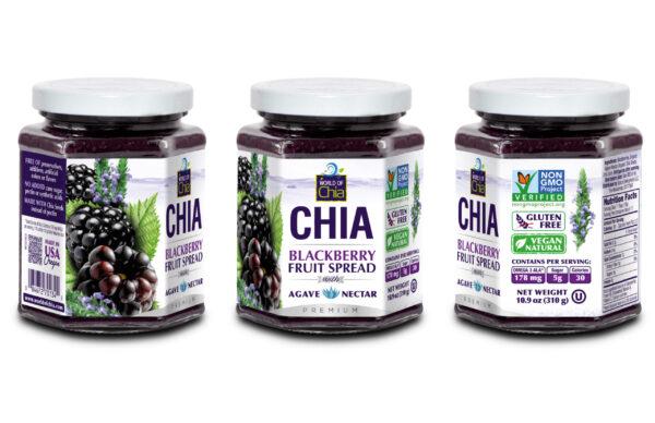 10.9 Oz Chia Blackberry Spread Premium
