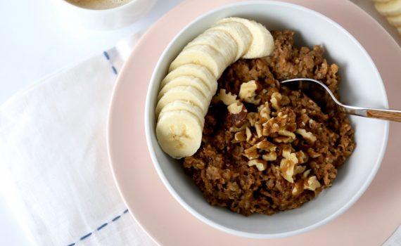 PB&J Protein Oats recipe