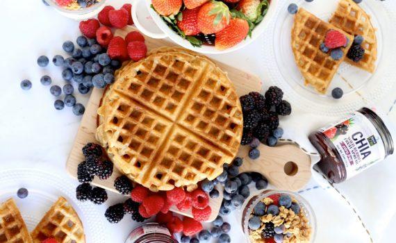 Wildberry Waffles recipe