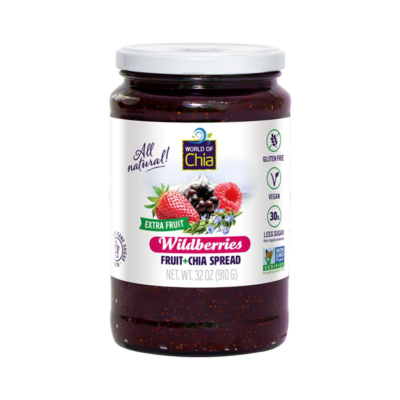 Extrafruit wildberries fruit spread